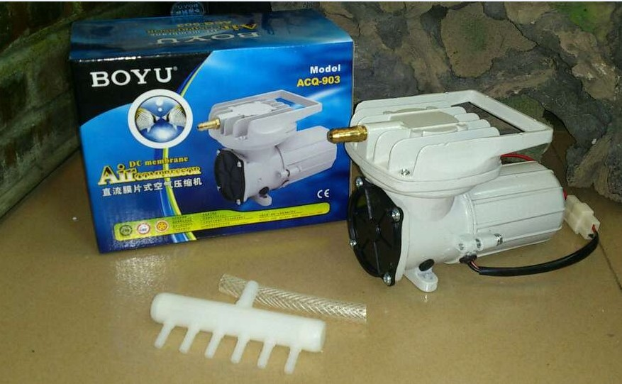 BOYU ACQ-903 12V DC Air Compressor 4 PCS Pack